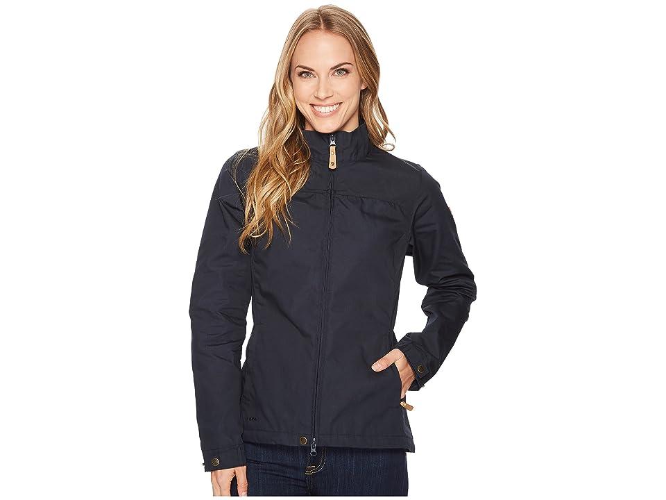 Fjallraven Kiruna Lite Jacket (Dark Navy) Women