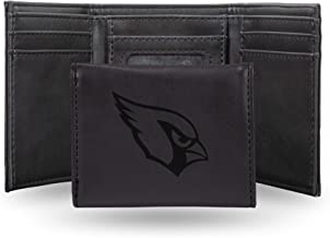 NFL Rico Industries Laser Engraved Trifold Wallet, Arizona Cardinals