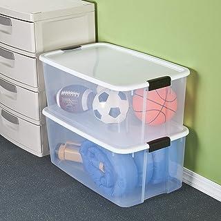 STERILITE 19909804 116 Quart/110 Liter Ultra Latch Box
