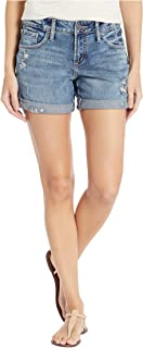 Women's Mid Rise Boyfriend Shorts