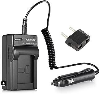 Kastar 电池充电器套装 适用于 Fuji NP-40 / Pentax D-LI8 / Panasonic DMW-BCB7, CGA-S004E / Kodak KLIC-7005 电池