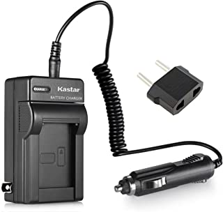 Kastar Replacement NP-60 Battery Charger for Casio Exilim EX-S10, EX-Z85, EX-Z9, EX-FS10, EX-S12, EX-Z90, EX-S12, EX-Z19, EX-Z20, EX-Z21, EX-Z25, EX-Z29, EX-Z80 Cameras