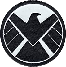 Marvel Comics Avenger Agents Of The Shield Crest Iron on Applique Patch