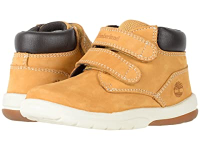 Timberland Kids Tracks HL Boot (Toddler/Little Kid) (Wheat Nubuck) Kids Shoes