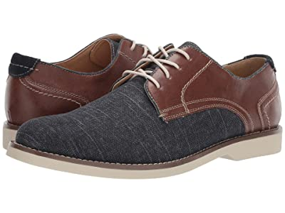 Dockers Hayes (Navy/Brown Textile/Tumbled) Men