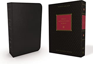 NKJV, Minister's Bible, Genuine Leather, Black, Red Letter Edition, Comfort Print: Holy Bible, New King James Version