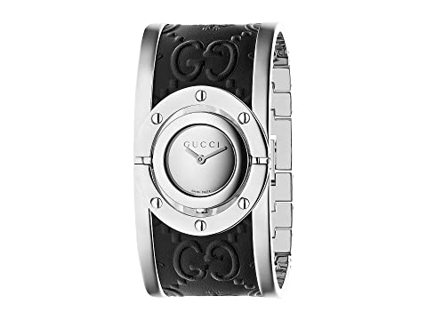 Gucci Twirl Steel Case Cuff - YA112441