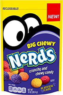 Nerds Big Chewy Candy, 10 Ounce, Pack of 8