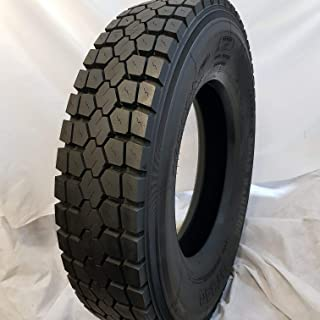 (1-TIRE) 225/70R19.5 ROAD CREW # DT340 DRIVE TIRES 14 PLY HEAVY DUTY 22570195