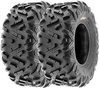 SunF 22x10-9 22x10x9 ATV UTV Tires 6 PR Tubeless A051 POWER II [Set of 2]
