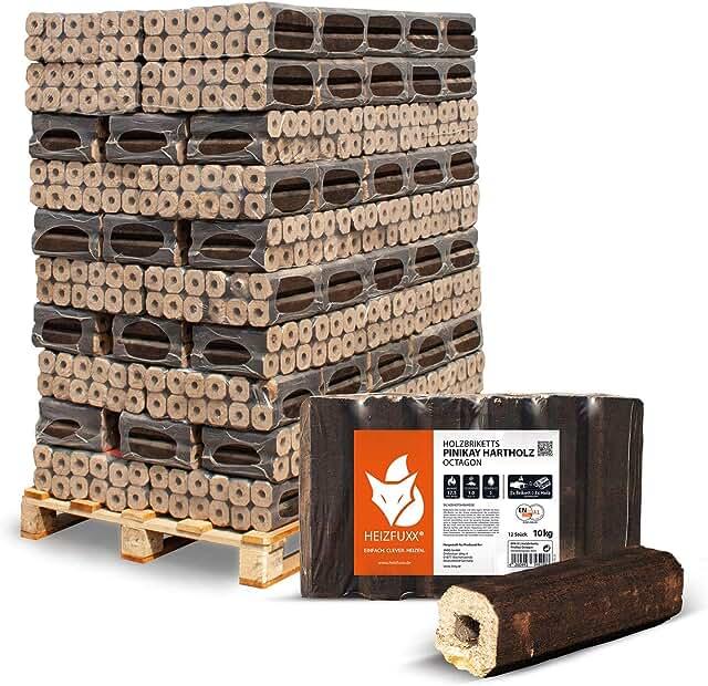 5 sehr beliebte Holzbriketts zum Heizen – Hier eine eine Übersicht