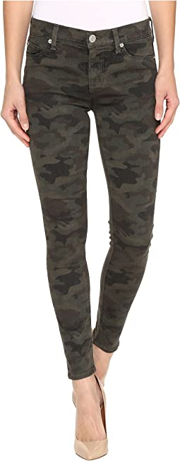 Nico Mid-Rise Ankle Skinny in Infantry Camo
