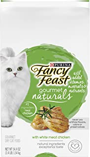 Fancy Feast Naturals White Meat Chicken Cat Dry Food, 1.5 kg
