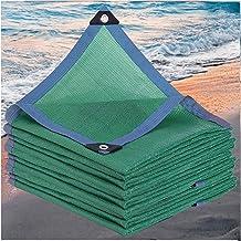 LIXIONG Sunblock schaduwdoek, groen anti-UV cool down 6-draad naaien anti-aging voor terras balkon bergvergroening, maat m...