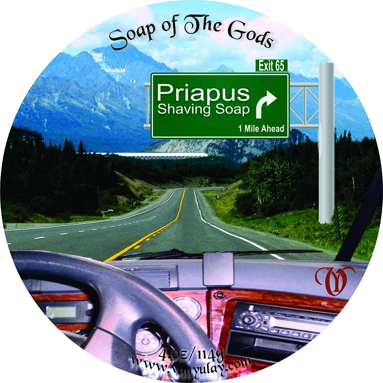 excellence Shaving Bargain sale Soap of The Priapus 4.oz Gods