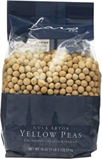 Lar's Own Peas Yellow, 18-Ounce (Pack of 6)