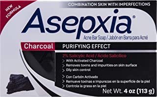 ASEPXIA CLEANSING BAR CHARCOAL 4 OZ
