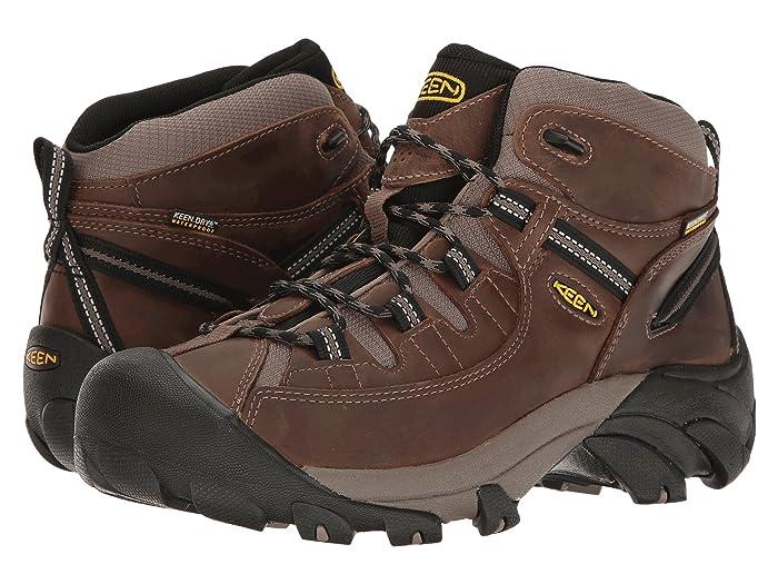 Keen Targhee II Mid (Shitake/Brindle) Men's Waterproof Boots