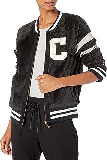 Champion Life Womens JL413550297 Super Fleece Faux Fur Jacket - Felt C Fleece Jacket