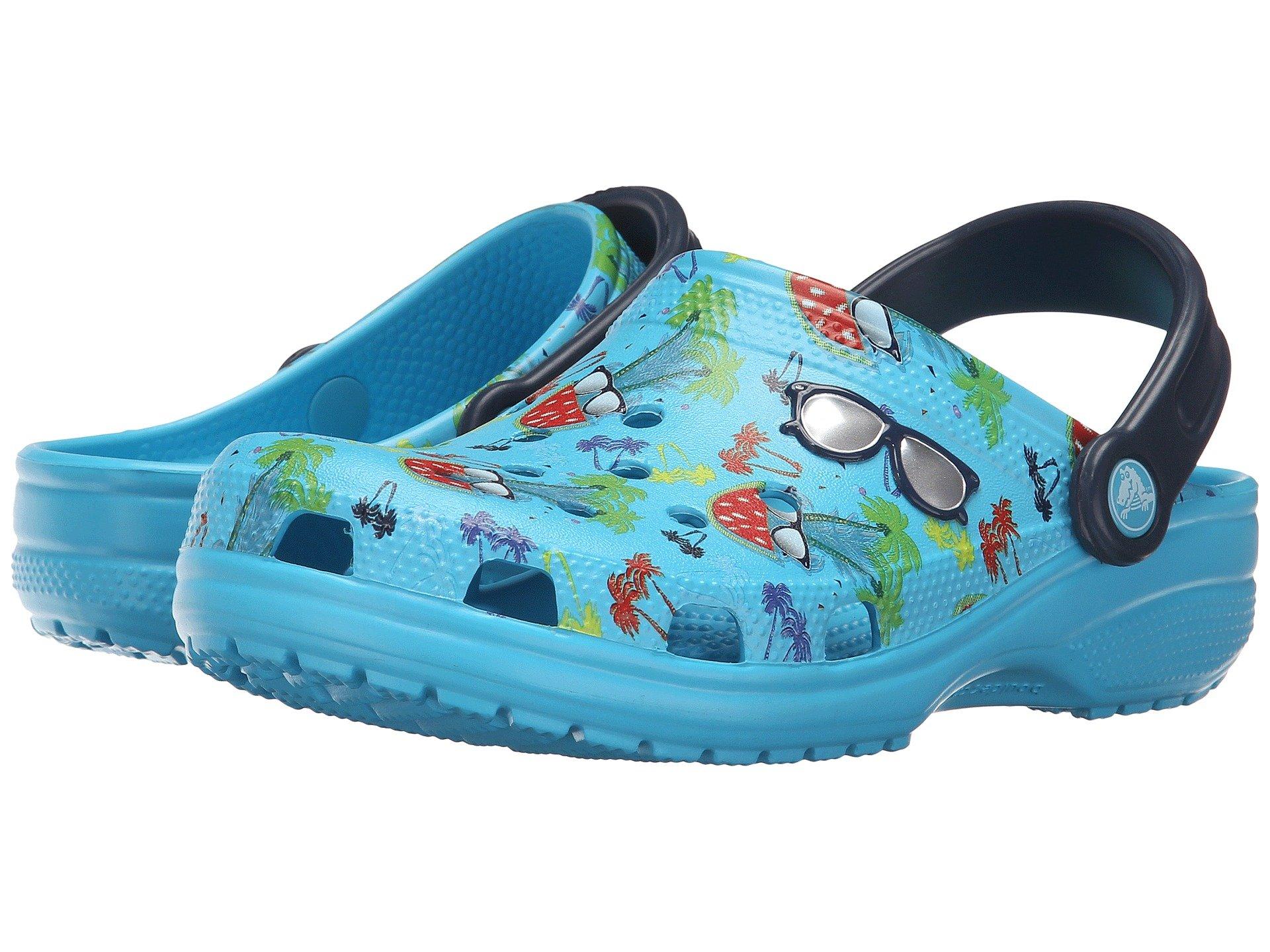 Zuecos para Mujer Crocs Classic Summer Fun Clog  + Crocs en VeoyCompro.net