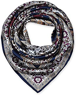corciova 35 Large Women's Satin Square Silk Feeling Hair Scarf Wrap Headscarf
