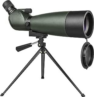 Tiro Al Blanco y Acampar DOTXX 20-60X60 Telescopio Terrestre Negro Lente HD con Tr/ípode y Adaptador de Smartphone para Observaci/ón de Aves