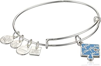 Alex and ANI Womens Charity by Design, You Complete Me, EWB Bracelet, Expandable