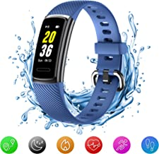 HealthyHerts Unisex's ID115HRBL2 sporttracker, blauw, één maat