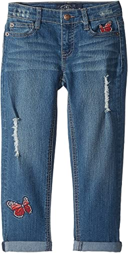 Lucky Brand Kids Demetra Butterfly Jeans in Ada Wash (Little Kids)