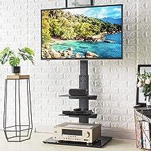 RFIVER Soporte TV de Pie para Television de 32 a 65 Pulgadas con Giratorio y Altura Ajustable TF2002
