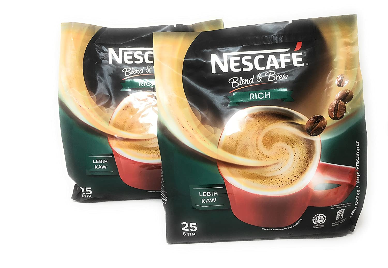 2 Packs Nescafe 2021 spring and summer new 3 in Selling rankings Original Stronger 1 taste than