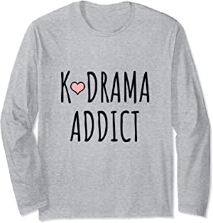 K-Drama Addict Long Sleeve T-Shirt