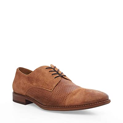 Steve Madden Desmond Oxford (Tan Leather) Men