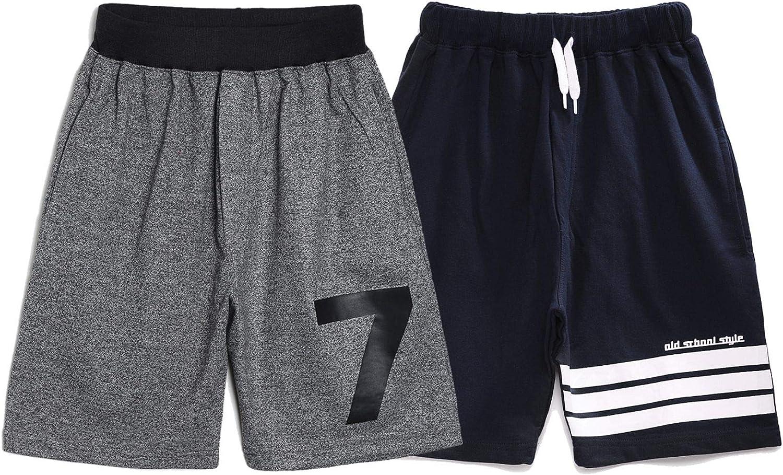 chopper club Boys Shorts in Fleece Regular Fit Pack of 2