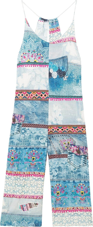 Desigual Jumpsuit Exotic Summer 18SNPK08 (bluee)