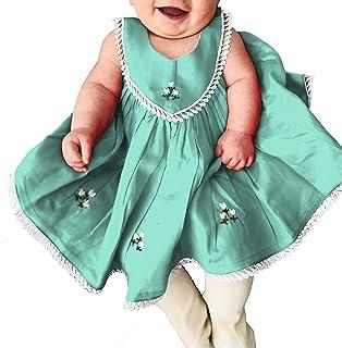 Handmade Baby Girl Organic Corduroy Cotton Dress Photoshoot Infant - 0-9 Months
