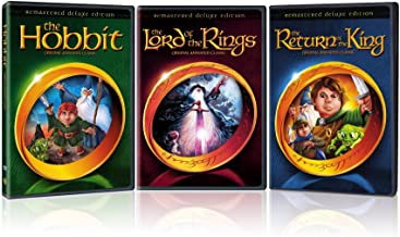 The Lord of the Rings Deluxe Edition/The Hobbit Deluxe Edition/The Return of the King Deluxe Edition/ (3-Pack/Giftset/DVD)