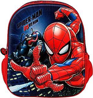 Spiderman Versus-Mochila 3D (Pequeña) Multicolor