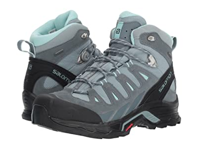 Salomon Quest Prime GTX(r) (Lead/Stormy Weather/Eggshell Blue) Women