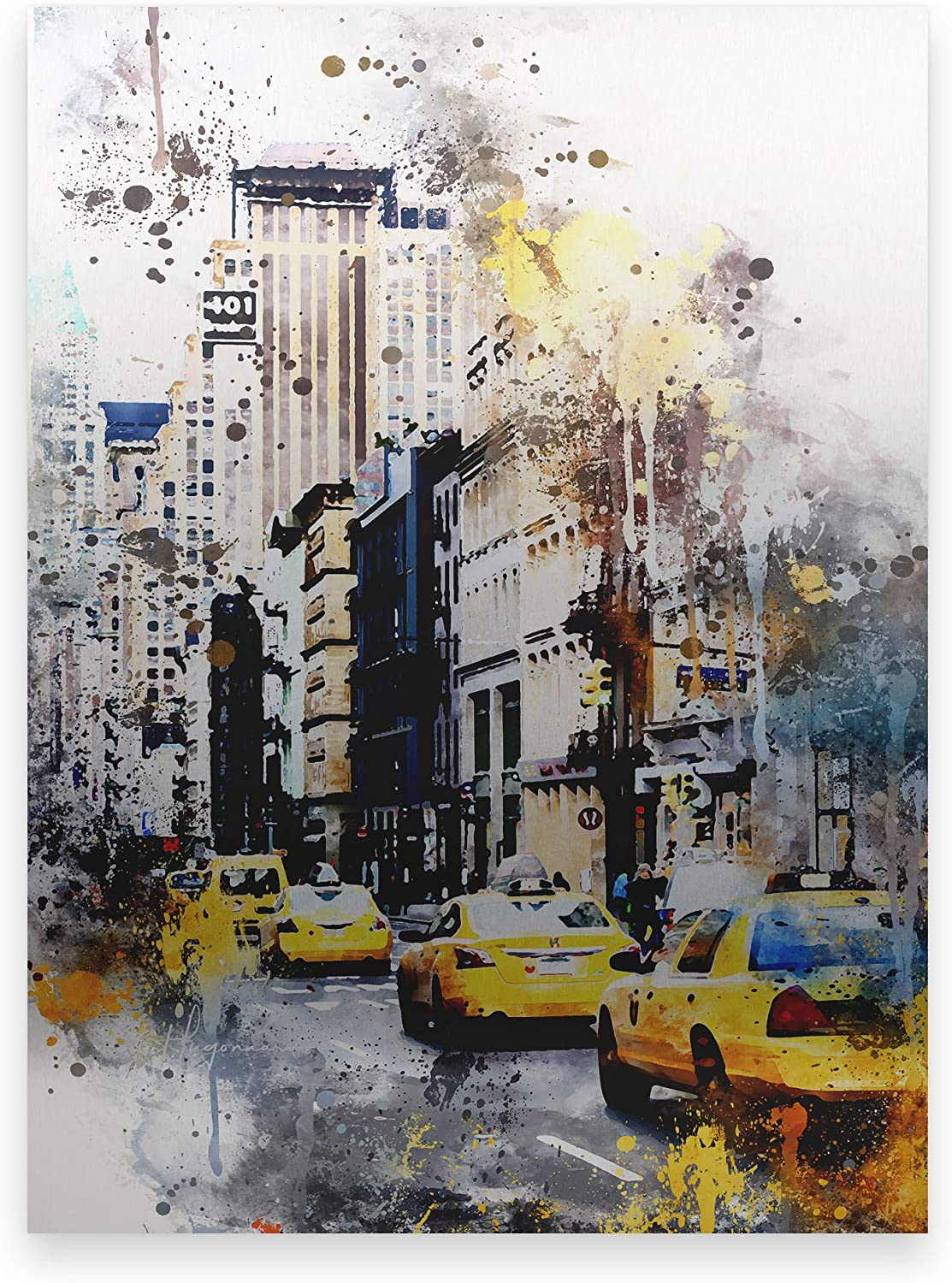 Trademark Fine Art NYC Watercolor Collection401 Broadway