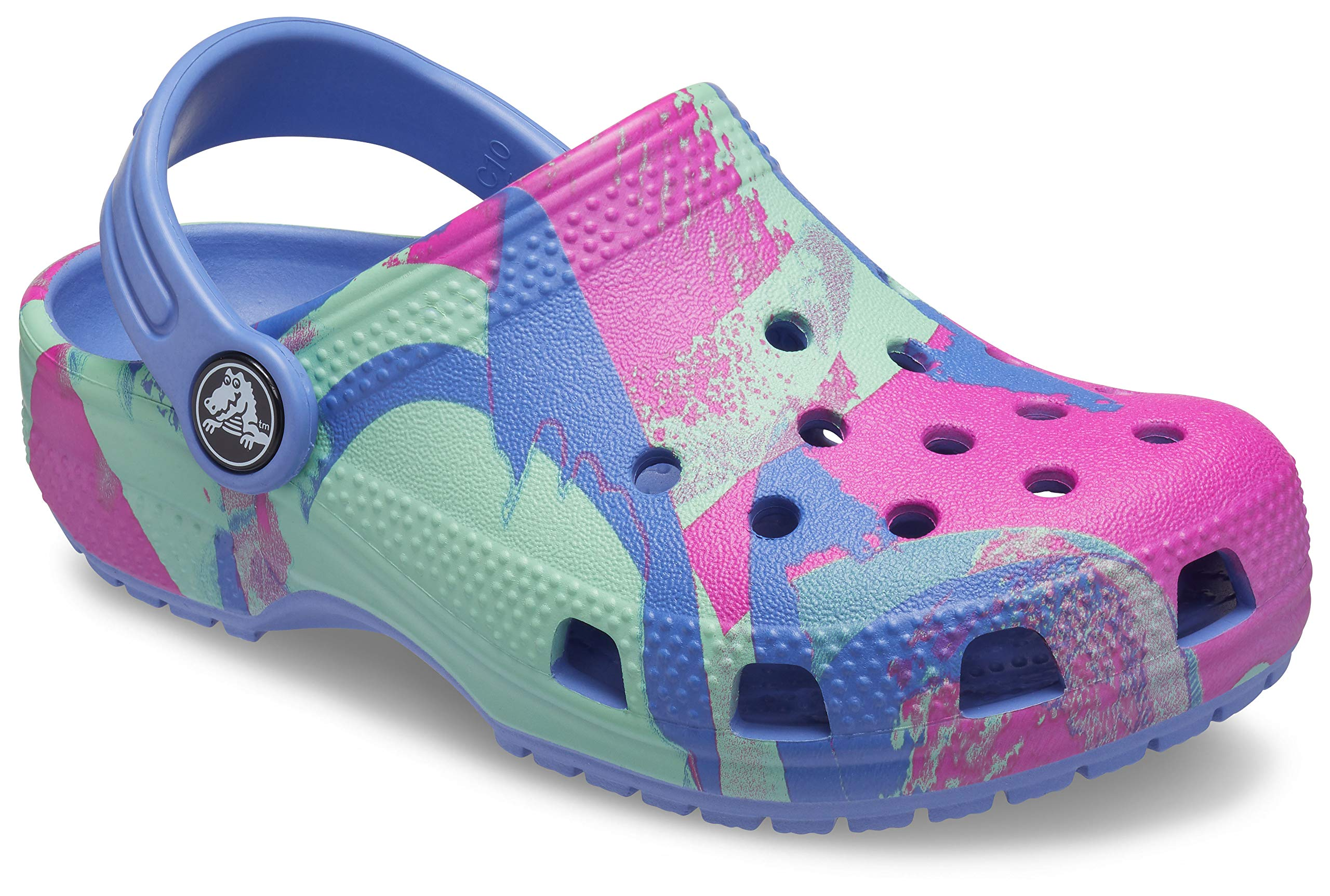 Girls Crocs Kids Classic Graphic Clog Slip On Water Shoe for Toddlers Lightweight Boys