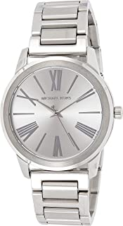Michael Kors Casual Watch Analog Display Quartz For Women Mk3489, Silver Band