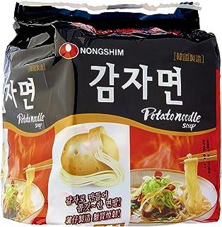 Nongshim Potato Noodles, 100g, (Pack of 4)