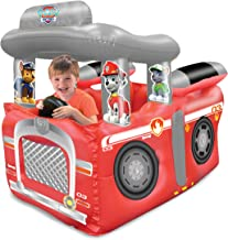 Paw Patrol Fire Truck Balls Pit, 1 Inflatable & 50 Sof-Flex Balls, Red, 43