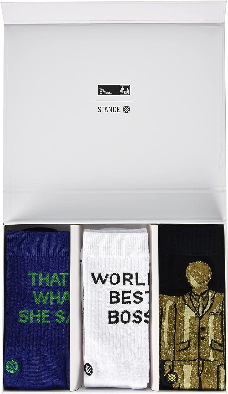 Stance The Office Crew Sock Box Set