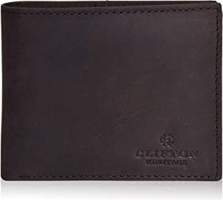 RFID Travel Neck Passport Holder Wallet - Black Slim RFID Wallets for Men - Genuine Leather Front Pocket Bifold Wallet RFID Blocking Bifold Leather Wallet Passcase Full Grain Leather Magnetic Front Pocket Money Clip Wallet RFID Blocking with ID Window and Gift Box, Dark Tan Leather Wallets for Men with RFID Blocking - Bifold Stylish Slim Wallet Front Pocket Wallet