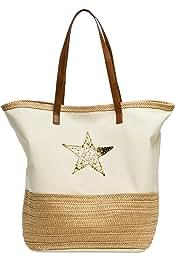 Amazon.es: bolsas rafia - 3 estrellas y más