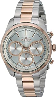 Invicta Women's Specialty Quartz Watch with Stainless Steel Strap, Two Tone, 18 (Model: 29266)