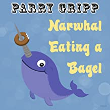 Narwhal Eating a Bagel