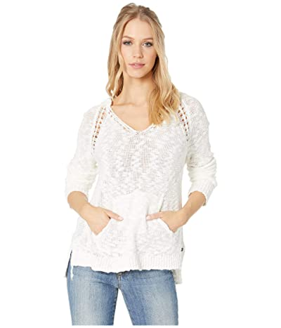 Roxy Airport Vibes Hooded Sweater (Marshmallow) Women